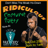 Moab Ho-Down Costume Party
